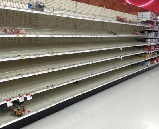 Magnificent Empty Supermarket Shelves Project Genesis Home Remodeling Inspirations Genioncuboardxyz